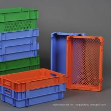 Contenedor de inserción retroflexionado para el transporte de vegetales de la serie Pantong / cajas de plástico logístico