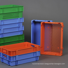 Retroflected Inserting Container for Vegetable transportation of Pantong series color/logistic plastic crates