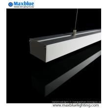 1m 2m 50X32mm Extrusion de profil en aluminium suspendu