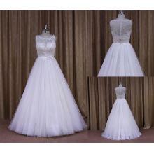 Размер девочек Исламской свадебное платье пляж Свадьба