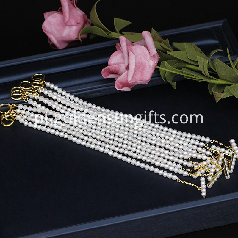 4-5mm small Pearl Bracelet