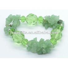 Pulsera de cristal verde Aventurine