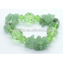 Pulseira de cristal verde Aventurine