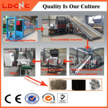 Chatarra / Residuos / Used Recycling Line Making Price Rubber Powder