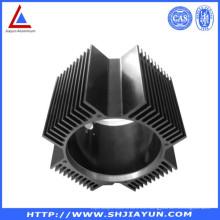 Disipador de calor de aluminio que se zambulle para la aplicación de la refrigeración
