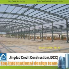 Taller de estructura de acero prefabricado de alta calidad y profesional