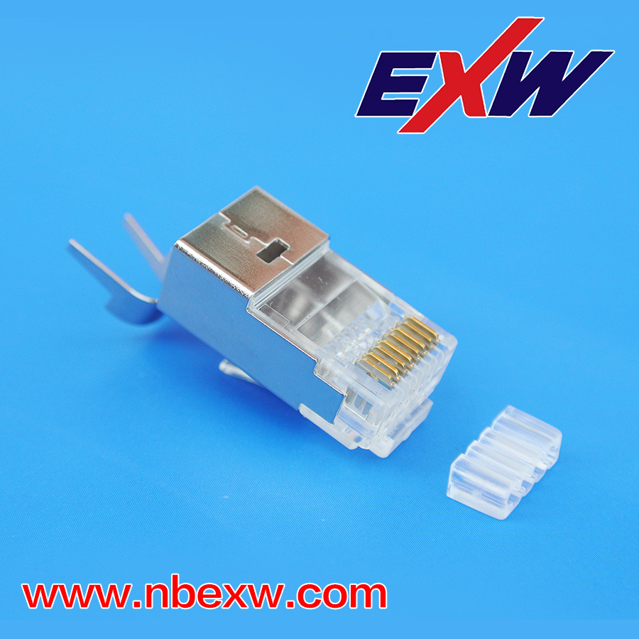 Cat7 Shielded RJ45 Plug