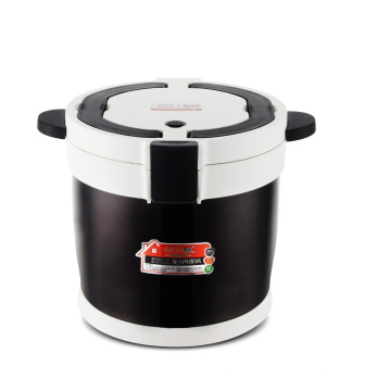Food grade stainless steel 304  vacuum thermal cooker pot with 7L or 4.5L flame free cooking pot