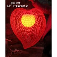Имитация персикового подвесного светильника