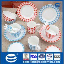 Фабрика продажа непосредственно корейский стиль фарфора посуда, сделанные в Китае
