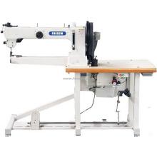Long Arm Cylinder Bed Triple Feed Walking Foot Heavy Duty Lockstitch Sewing Machine