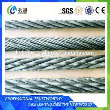 Chine Alibaba 8x19 Elevator Steel Wire Rope