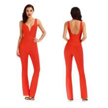 Ladies Sexy Long Jumpsuit Women Suit
