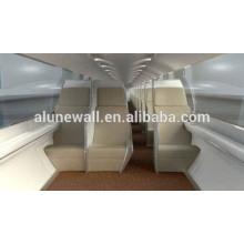 Panneau composite d'acier inoxydable d'intérieur de rail à grande vitesse