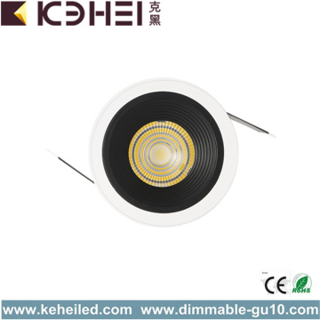 7W 4000K Wash Wall Lamp Black Color Reflector