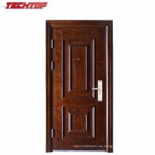 TPS-050 Buena calidad y acabado en superficie acabado Acero Puertas de entrada individuales