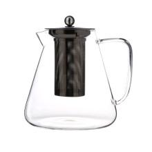 Kitchen Samll 550ML Borosilicate Glass English Teapot Wholesale