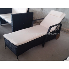 Mobiliario de jardín / al aire libre de mimbre - Moveable single lounge