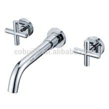 KI-17 hot wall mounted basin faucet, bathroom shower sets, wall mounted waterfall bathtub faucet mixer