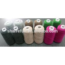 Chaude en gros 100% fil de laine de mouton 2 / 24NM pour le tricotage de machine