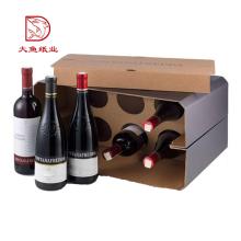Benutzerdefinierte gedruckte Mode Wellwein Geschenkbox 6 Flasche