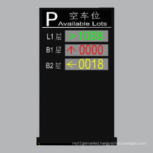Outdoor P10 Double Color and Three-Layer LED Display Available Parking Lots