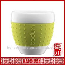 Keramische japanische Teetasse, japanische Porzellan-Teetassen