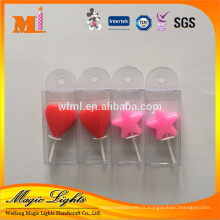 Chine en gros rouge coeur stands mariage faveurs bougie
