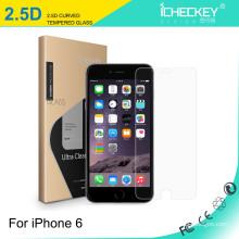 El uso de cristal moderado HD del teléfono móvil moderó la película de cristal para iPhone6
