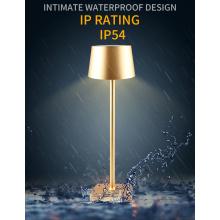 Aluminum Cordless Rechargeable LED Desk Table Lamps