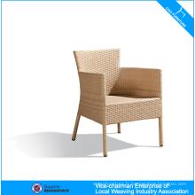 Chaise de rotin extérieure en aluminium enduite par puissance