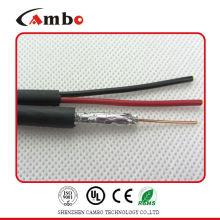 Коаксиальный кабель RG59 мощность 2 ядра