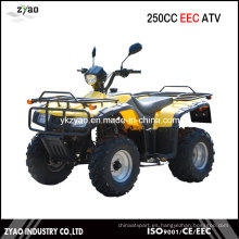 250cc Big Power CEE Granja ATV, ATV Quad con CEE Aprobación Popular Popular baratos baratos embrague aire refrigerado