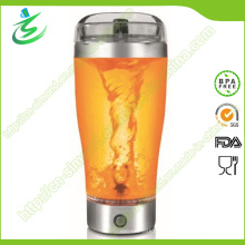 Réveil électrique à protéines de 500 ml, bouteille de secoueur de protéines en acier inoxydable