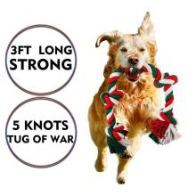Brinquedos da corda do cão para mastigadores agressivos