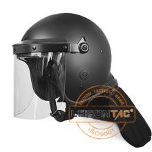 Riot Helmet Enhanced PC / ABS Material com resistente à água e à chama