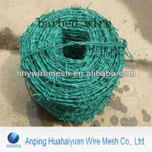hot dipped barbed wire pvc coated Barbed Iron Wire factory Galvanized barbed wire