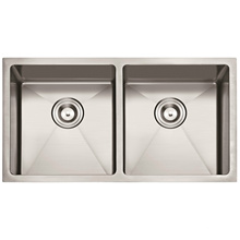 "American Standard 3219 / 32""X19"" 50/50 Hand Made Undermount Stainless Steel Sink Double Bowl Kitchen Sink Cupc"