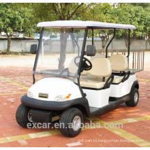 Дешевые 4-местные Троян электрическая батарея тележки гольфа дешевые гольф-багги корзину для продажи