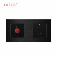 Smart Hotel Glas-Touch-Schlüsselschalter SOS-Schalter