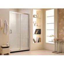 Australiano padrão de vidro temperado porta de correr chuveiro chuveiro (f13)