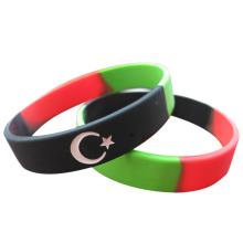 2016 Länderflagge segmentierte Armbänder für Veranstaltungen