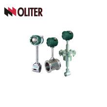 Medidor de vazão hidráulico de vórtice hidráulico de gás de óleo SS304 com LED
