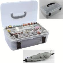 GS CE ETL 135w poder da mão 217pcs Mini Mini Grinder Kit Portátil Hobby elétrica Rotary Tool Accessory Set