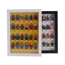 High Quality Creative Custom Foldable 3D Wood Picture Photo Frame LEGO blocks Shadow Box Display Case