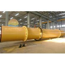 Fabrication professionnelle de 3 cylindres séchoir rotatif avec la bonne qualité