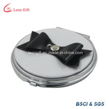Deco de arco redondo pequeño espejo compacto