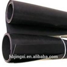 Oil Resistant Black Viton Rubber Sheet / Mat