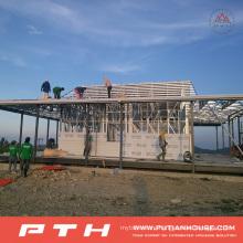 China Prefabricated Luxury Light Steel Villa House