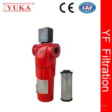 Filtro de aire comprimido de alta precisión de 0,01 micrones